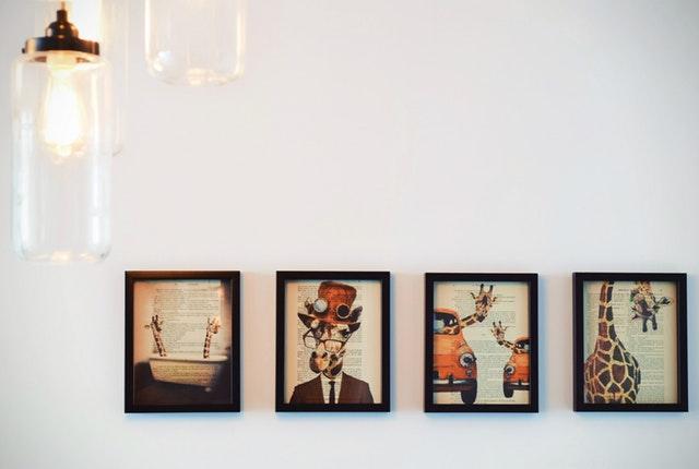 dekorere væggene